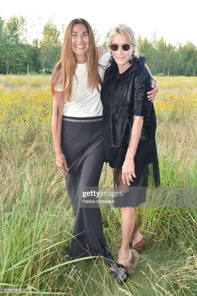 Dana Taylor and Lisa Jackson attend the Midsummer Party 2017 at Parrish Art Museum on July 15, 2017 in Water Mill, New York.