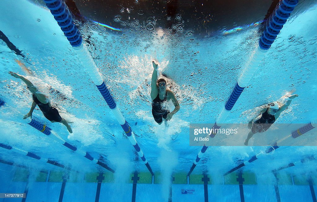 2012 U.S. Olympic Swimming Team Trials - Day 4 : News Photo