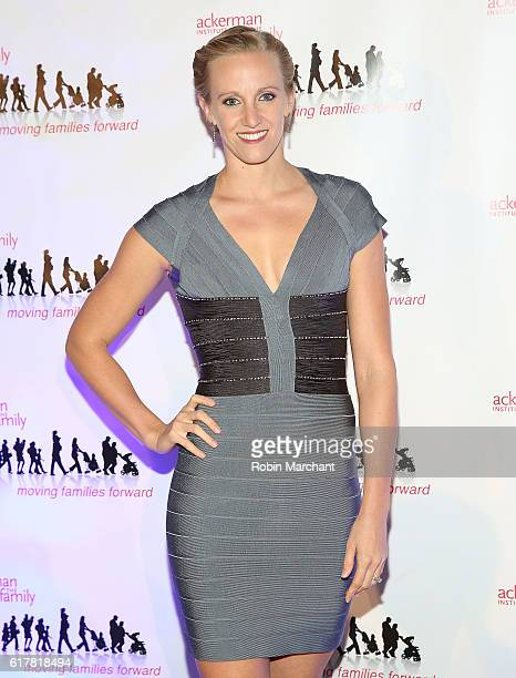Dana Vollmer attends Moving Families Forward 2016 Gala Benefiting Ackerman Institute for the Family at The Waldorf=Astoria on October 24, 2016 in New...