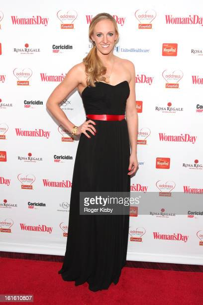 Dana Vollmer attends the 10th Annual Red Dress Awards at Jazz at Lincoln Center on February 12 2013 in New York City