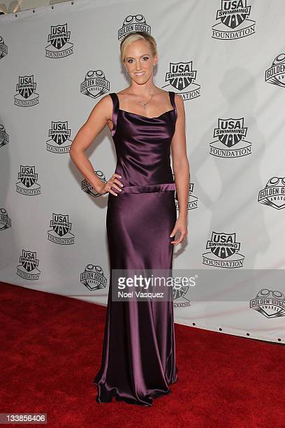 Dana Vollmer attends the 2011 Golden Goggles at JW Marriott Los Angeles at LA LIVE on November 20 2011 in Los Angeles California