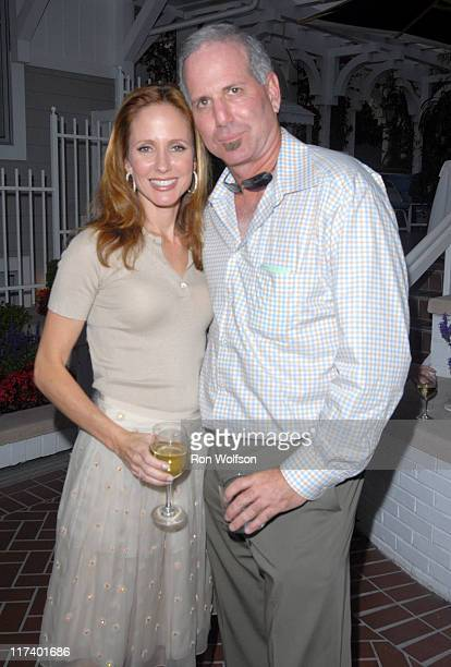 Dana Walden and 24 Creator Joel Surnow during 20th Century Fox Television Producers and Stars Party at Shutters on the Beach in Venice California...