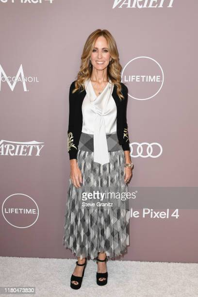 Dana Walden attends Variety's 2019 Power of Women Los Angeles presented by Lifetime at the Beverly Wilshire Four Seasons Hotel on October 11 2019 in...