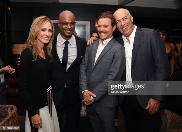 Dana Walden CoChairman / CEO of Fox Television Group Damon Wayans Clayne Crawford and Gary Newman CoChairman / CEO of Fox Television Group attend the...