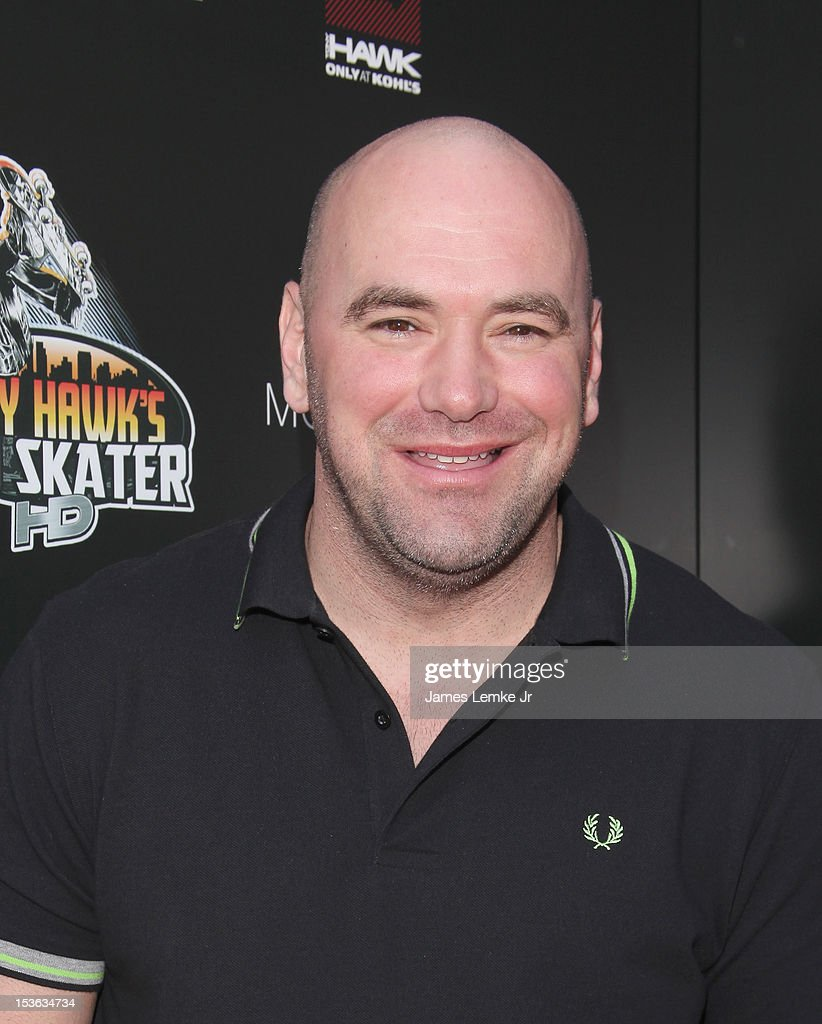 Dana White attends 9th annual Tony Hawk stand up for skateparks benefit at the Ron Burkle's Green Acres Estate on October 7, 2012 in Beverly Hills, California.