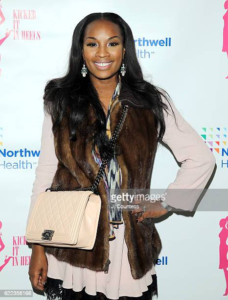 Dana Whitfield attends the 2016 Kicked It In Heels Cocktail Reception at the Akin Gump Law Firm on November 10 2016 in New York City