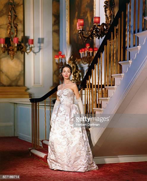 Dana Wynter in Long Gown