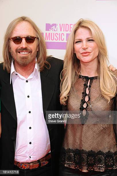 Dana York musician Tom Petty arrive at the 2012 MTV Video Music Awards at Staples Center on September 6 2012 in Los Angeles California