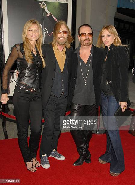 Dana York musician Tom Petty musician Dave Stewart and Anoushka Fisz arrive at Runnin' Down A Dream Tom Petty and The Heartbreakers premiere held in...