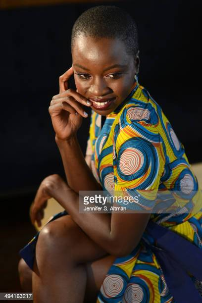 Danai Gurira Actress Danai Gurira is photographed for Los Angeles Times on September 12 2013 in New York City