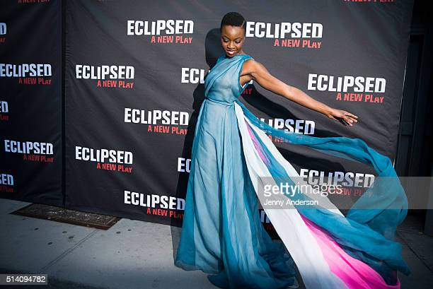 Danai Gurira attends 'Eclipsed' Broadway Opening Night at Golden Theatre on March 6 2016 in New York City