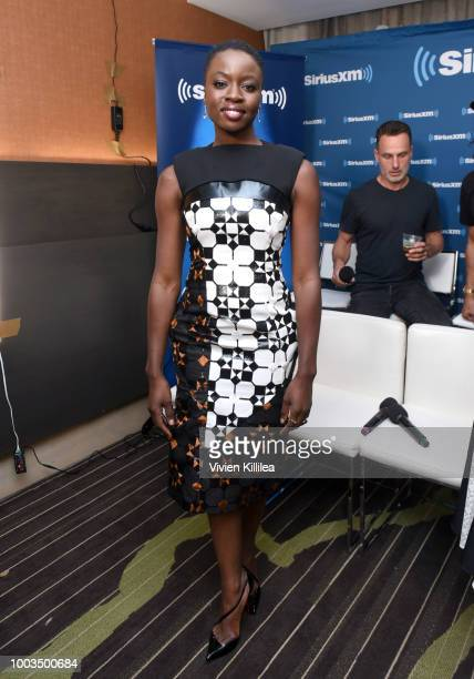 Danai Gurira attends SiriusXM's Entertainment Weekly Radio Broadcasts Live From Comic Con in San Diego at Hard Rock Hotel San Diego on July 20 2018...
