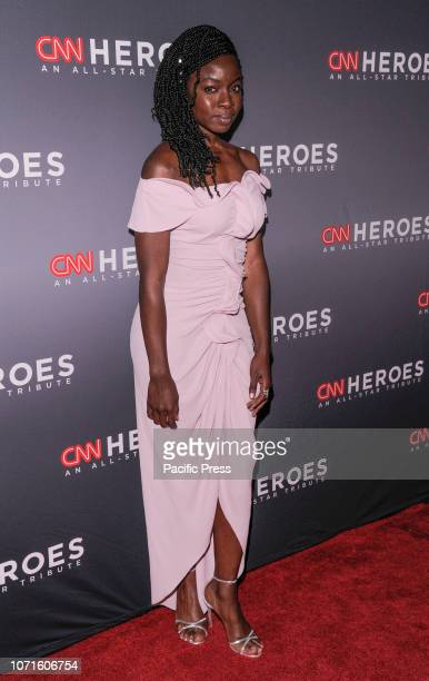 Danai Gurira attends the 12th Annual CNN Heroes An AllStar Tribute at American Museum of Natural History