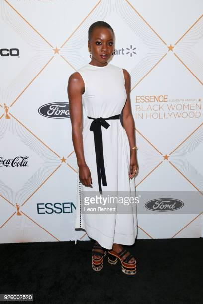Danai Gurira attends the 2018 Essence Black Women In Hollywood Oscars Luncheon at Regent Beverly Wilshire Hotel on March 1 2018 in Beverly Hills...