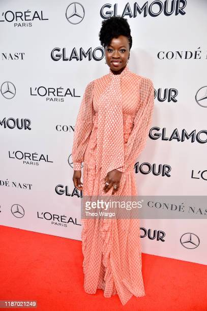 Danai Gurira attends the 2019 Glamour Women Of The Year Awards at Alice Tully Hall on November 11 2019 in New York City