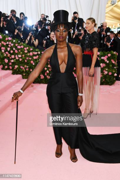 Danai Gurira attends The 2019 Met Gala Celebrating Camp Notes on Fashion at Metropolitan Museum of Art on May 06 2019 in New York City