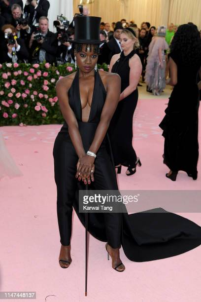 Danai Gurira attends The 2019 Met Gala Celebrating Camp: Notes On Fashion at The Metropolitan Museum of Art on May 06, 2019 in New York City.