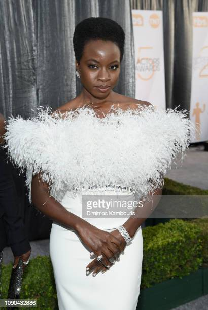 Danai Gurira attends the 25th Annual Screen Actors Guild Awards at The Shrine Auditorium on January 27 2019 in Los Angeles California 480595