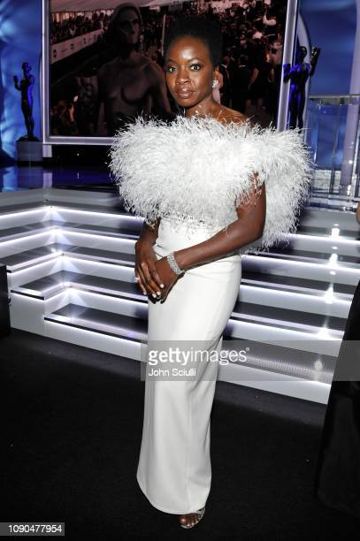 Danai Gurira attends the 25th Annual Screen Actors Guild Awards at The Shrine Auditorium on January 27 2019 in Los Angeles California 480720