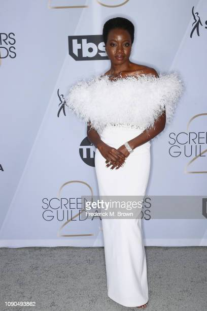 Danai Gurira attends the 25th Annual Screen Actors Guild Awards at The Shrine Auditorium on January 27 2019 in Los Angeles California 480695
