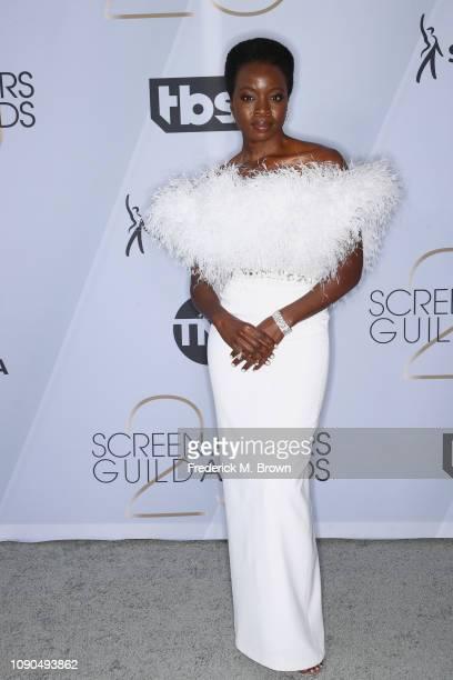 Danai Gurira attends the 25th Annual Screen ActorsGuild Awards at The Shrine Auditorium on January 27 2019 in Los Angeles California 480695