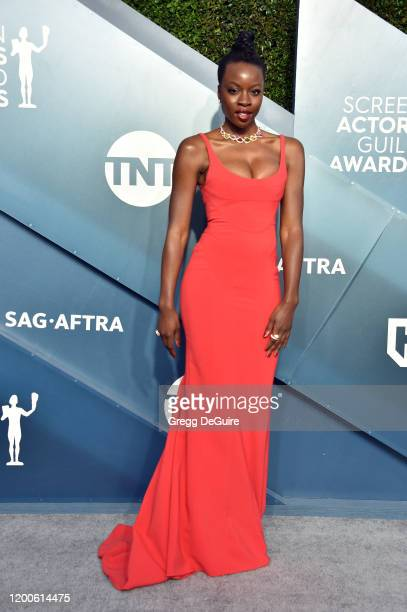 Danai Gurira attends the 26th Annual Screen Actors Guild Awards at The Shrine Auditorium on January 19 2020 in Los Angeles California 721430