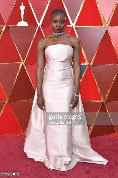 Danai Gurira attends the 90th Annual Academy Awards at Hollywood Highland Center on March 4 2018 in Hollywood California