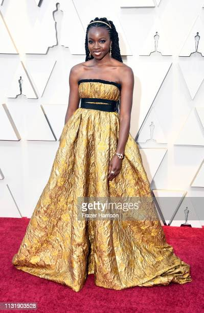 Danai Gurira attends the 91st Annual Academy Awards at Hollywood and Highland on February 24, 2019 in Hollywood, California.