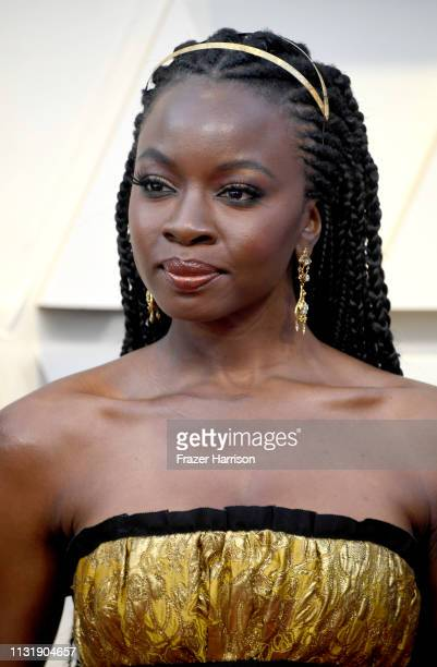 Danai Gurira attends the 91st Annual Academy Awards at Hollywood and Highland on February 24 2019 in Hollywood California