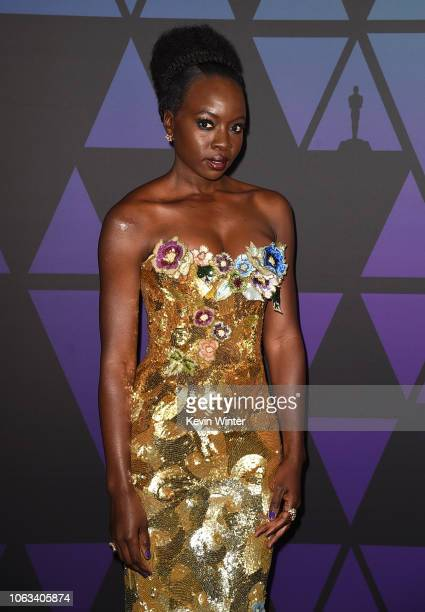 Danai Gurira attends the Academy of Motion Picture Arts and Sciences' 10th annual Governors Awards at The Ray Dolby Ballroom at Hollywood Highland...
