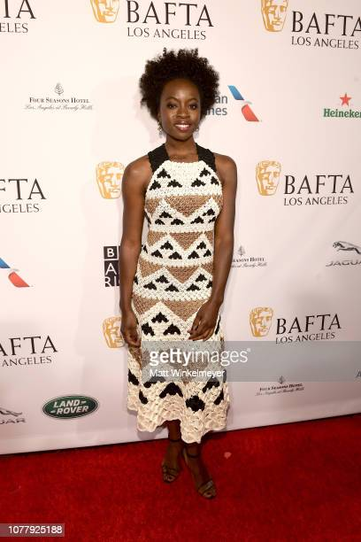 Danai Gurira attends The BAFTA Los Angeles Tea Party at Four Seasons Hotel Los Angeles at Beverly Hills on January 5 2019 in Los Angeles California