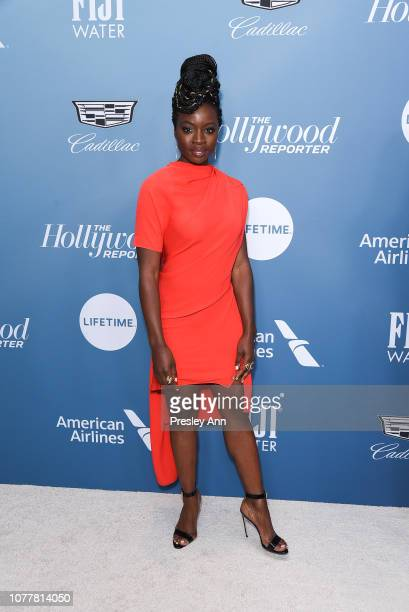 Danai Gurira attends The Hollywood Reporter's Power 100 Women In Entertainment at Milk Studios on December 05 2018 in Los Angeles California