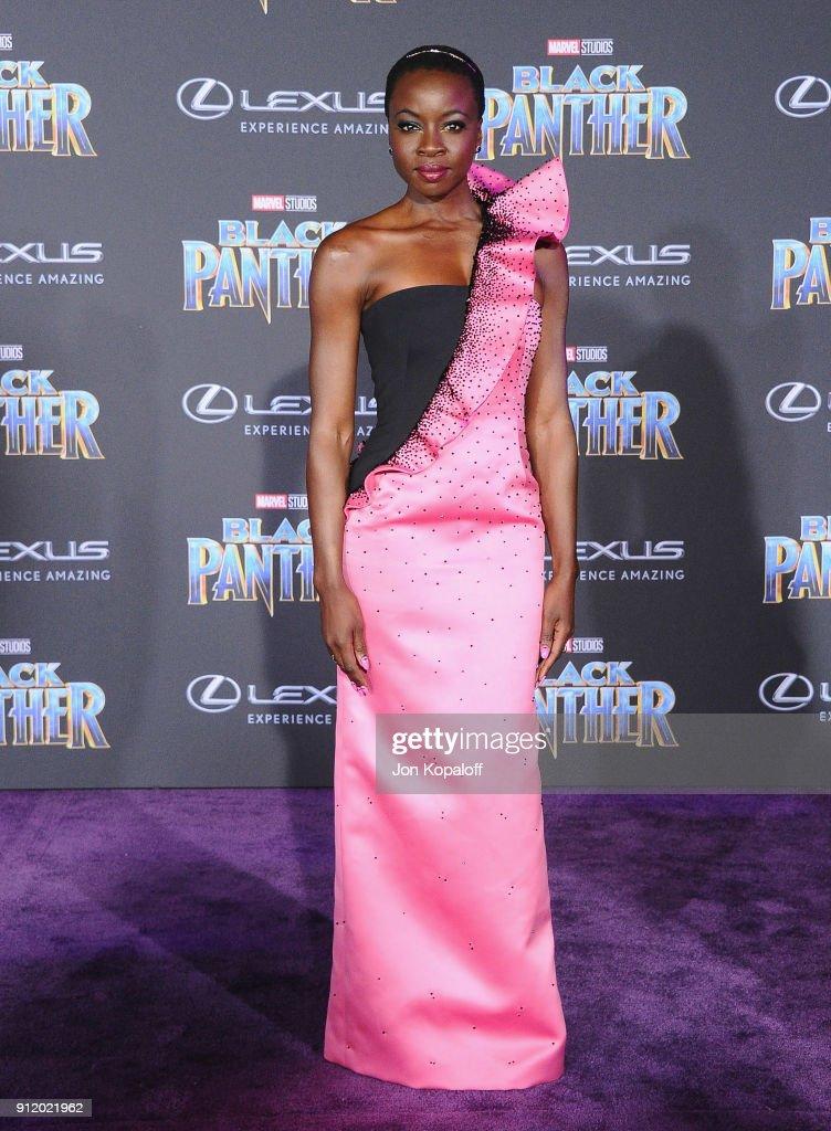 "Premiere Of Disney And Marvel's ""Black Panther"" - Arrivals : Fotografía de noticias"