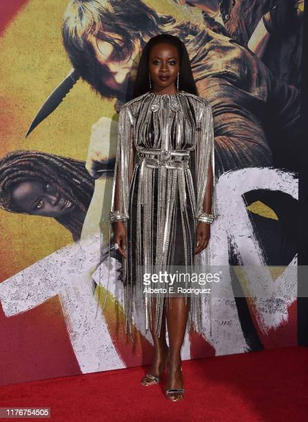 "Danai Gurira attends the Season 10 Special Screening of AMC's ""The Walking Dead"" at Chinese 6 Theater– Hollywood on September 23, 2019 in Hollywood,..."