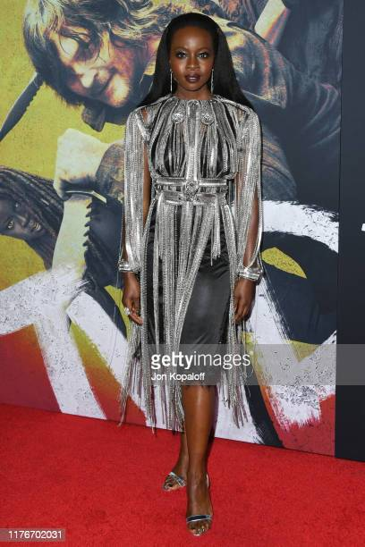 "Danai Gurira attends the Special Screening Of AMC's ""The Walking Dead"" Season 10 at Chinese 6 Theater– Hollywood on September 23, 2019 in Hollywood,..."