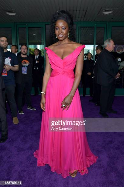 Danai Gurira attends the world premiere of Walt Disney Studios Motion Pictures Avengers Endgame at the Los Angeles Convention Center on April 22 2019...