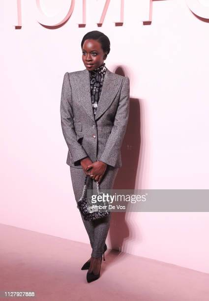 Danai Gurira attends Tom Ford FW19 Fashion Show at Park Avenue Armory on February 06 2019 in New York City