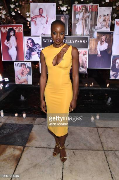 Danai Gurira attends Vanity Fair and Lancome Paris Toast Women in Hollywood hosted by Radhika Jones and Ava DuVernay on March 1 2018 in West...