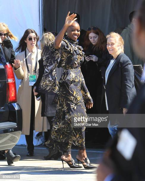 Danai Gurira is seen on March 3 2018 in Los Angeles California