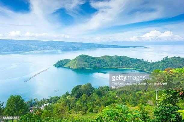 Danau Toba lake view