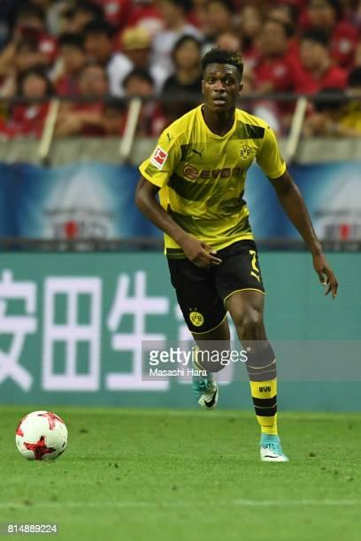 DanAxel Zagadou of Borussia Dortmund in action during the preseason friendly match between Urawa Red Diamonds and Borussia Dortmund at Saitama...