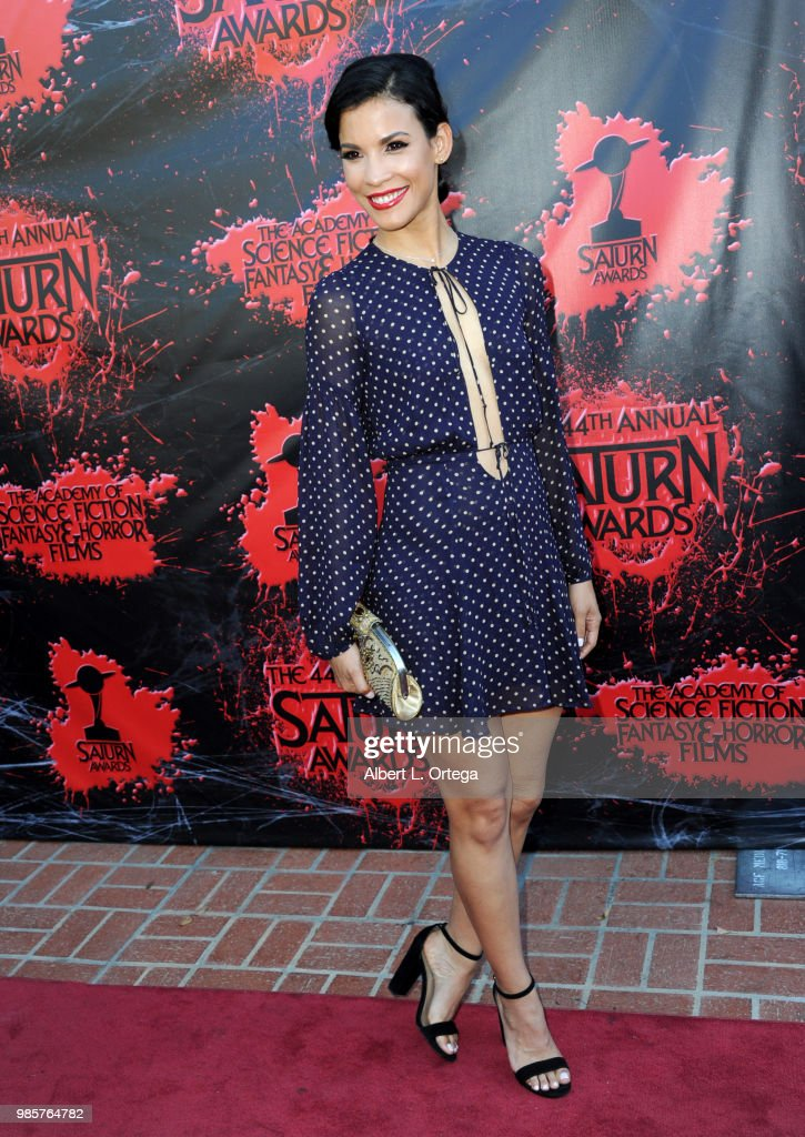 Academy Of Science Fiction, Fantasy & Horror Films' 44th Annual Saturn Awards - Arrivals