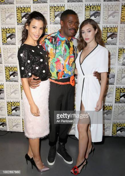 Danay García Colman Domingo and Alycia DebnamCarey attend the 'Fear the Walking Dead' panel with AMC during ComicCon International 2018 at San Diego...