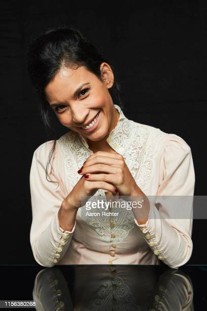 Danay García of Fear The Walking Dead poses for a portrait in the Pizza Hut Lounge at 2019 ComicCon International San Diego on July 18 2019 in San...