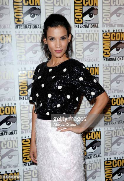 Danay Garcia attends AMC's Fear The Walking Dead panel during ComicCon International 2018 at San Diego Convention Center on July 20 2018 in San Diego...