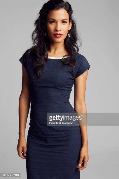 Danay Garcia from AMC's 'Fear the Walking Dead' poses for a portrait in the Getty Images Portrait Studio powered by Pizza Hut at San Diego 2018 Comic...