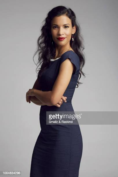 Danay Garcia from AMC's 'Fear the Walking Dead' poses for a portrait during the Getty Images Portrait Studio powered by Pizza Hut at San Diego 2018...