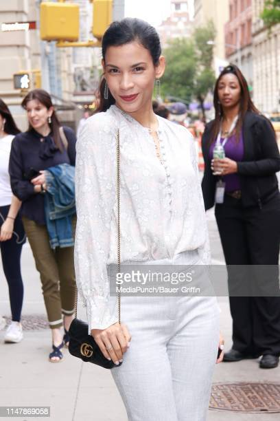 Danay Garcia is seen outside the Build building on June 03 2019 in New York City