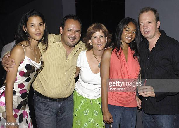 Danay Garcia Mark Roberts executive producer of Danika Lorena David producer of Danika Regina Hall and Daniel Bickel producer of Danika