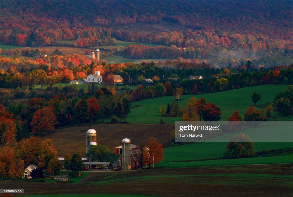 Danby-Four-Corners, Vt-8 : Stock Photo
